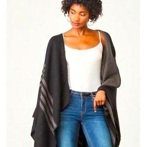 BB DAKOTA wrap cardigan - EUC - one size fits all